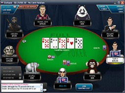 FullTiltPoker Table