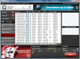 Grosvenor Poker Website