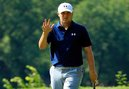 Jordan Spieth Wears Green Jacket at Poker Table