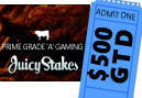 Giveaways Continue at JuicyStakes