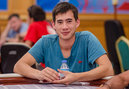 Louis Salter Riding High in WSOP Main