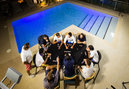 Rafael Nadal relaxes with some Poker