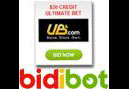 UB.com credits on offer at Bidibot.com