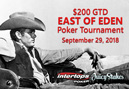 $200 GTD 'East of Eden' Poker Tournament Salutes Hollywood Icon James Dean