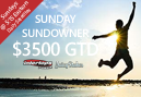 Sunday Sundowners now offering $3,500