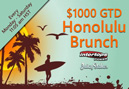 New $1000 GTD Honolulu Brunch Poker Tournaments
