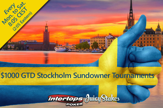 Chill Out After Work -- New Stockholm Sundowner Tournaments