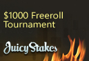 Juicy Stakes To Run $1,000 Freeroll