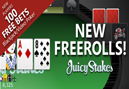Daily Freerolls Hit Juicy Stakes
