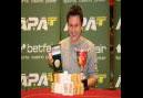 Tod Wood is APAT English Amateur Poker champion