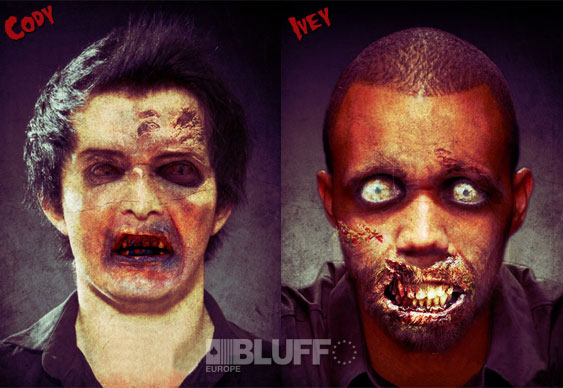 Cody and Ivey Zombies