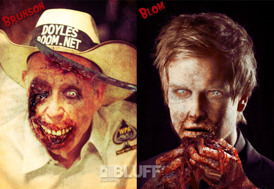 Zombies Blom and Brunson