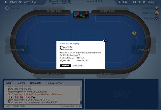 Sky Poker 4