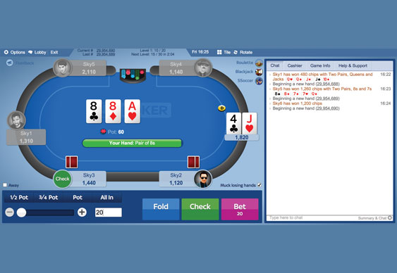 Sky Poker 3