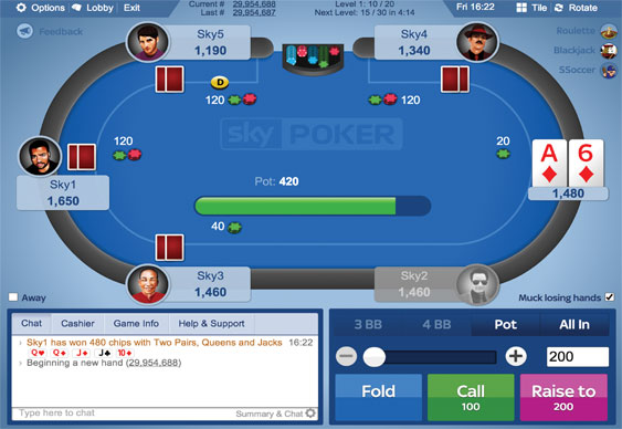 free poker no download required