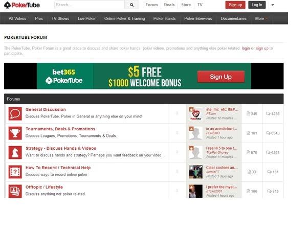 PokerTube screenshot