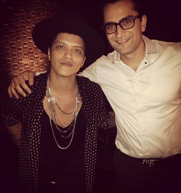 Esfandiari Bruno Mars