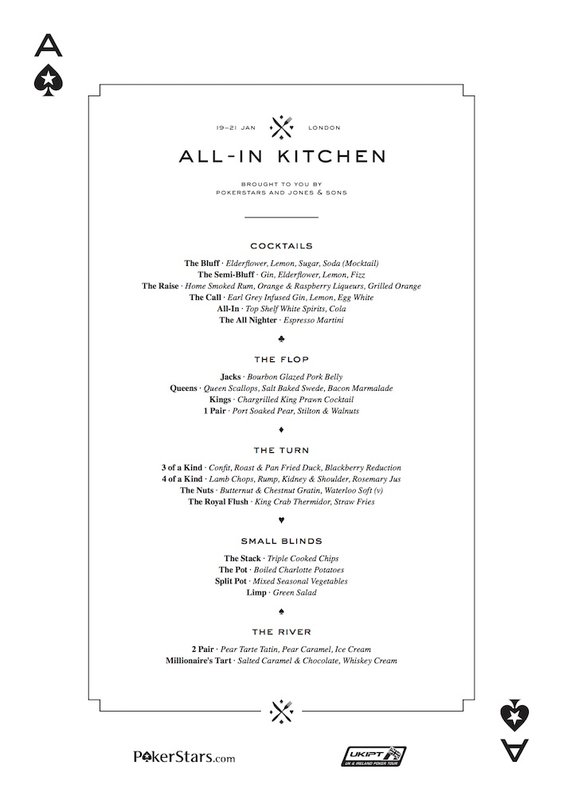 All In Kitchen Menu