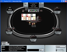 DiamondBet Poker Table