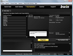 Bwin Tournament