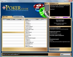 PokerCoUk Tournament