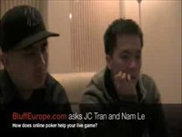 JC Tran and Nam Le: How does online poker help your live game?