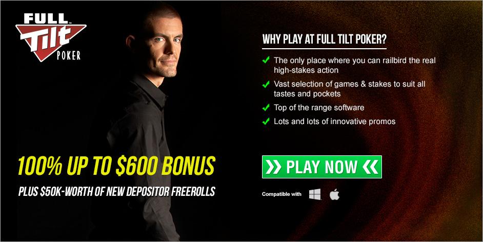 Full tilt poker sign up bonus code