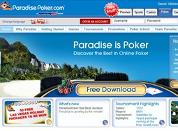 Paradise Poker Website