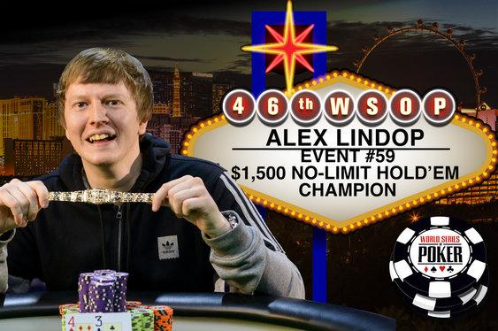 Brit Alex Lindop Wins WSOP Gold