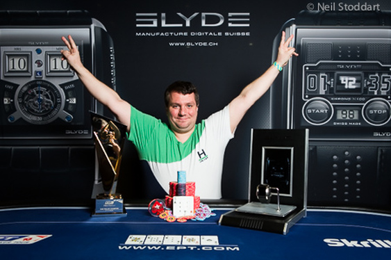 Zaichenko Claims Prague High Roller
