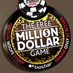 Betfair continues to offer WSOPE Million Dollar Game