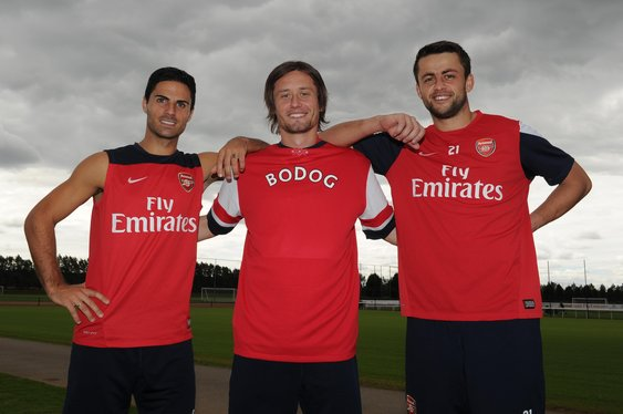 Arsenal Partner with Bodog