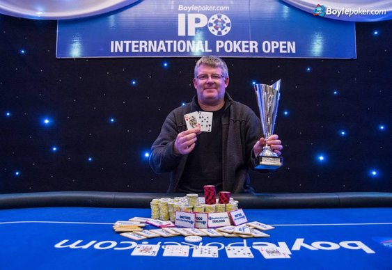 Chris Pyke Claims IPO Dublin Title