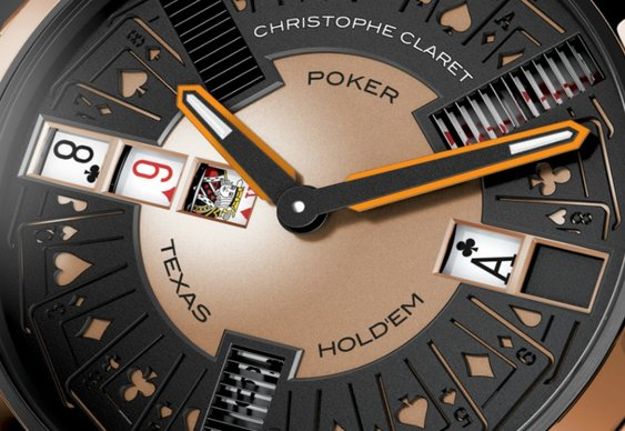 Claret Creates a $200k Poker Watch