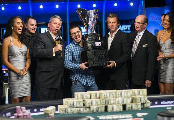 Smith's Sparkles in WPT Five Diamond Finale