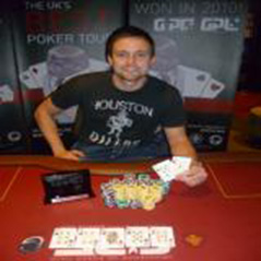 Dave McConachie wins GUKPT Summer Series Brighton
