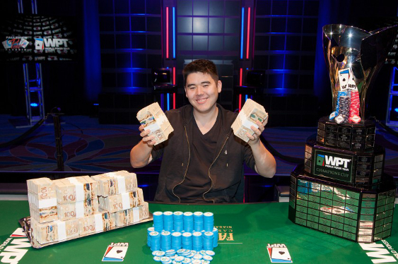 WPT Win For David Ormsby