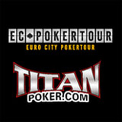 EC Poker tour - Sebastian Percy-Smith, the first player out of the money...