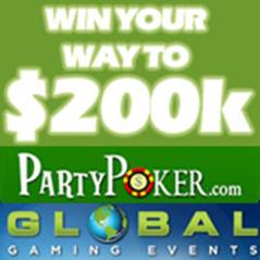 Win your way to $200K with Global Gaming Events