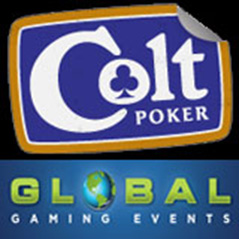 $3,000 in added value at Global Gaming Events' latest Colt Poker tournaments