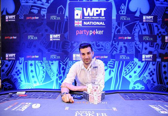 Gabriel Tuna wins WPT National London