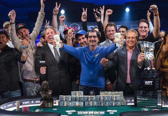 Harry Arutyunyan wins WPT Legends of Poker