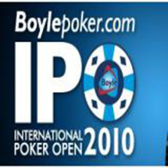 Daniel Ward leads International Poker Open