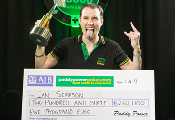 Simpson Wins Irish Hearts and Money