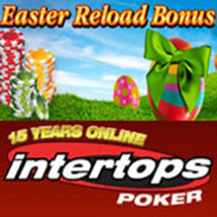 Eight Easter specials from Intertops Poker