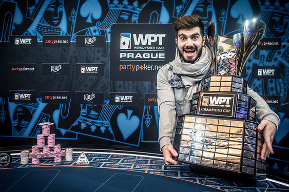 Javier Gomez Wins WPT Prague