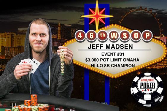 WSOP Bracelet #4 for Jeff Madsen