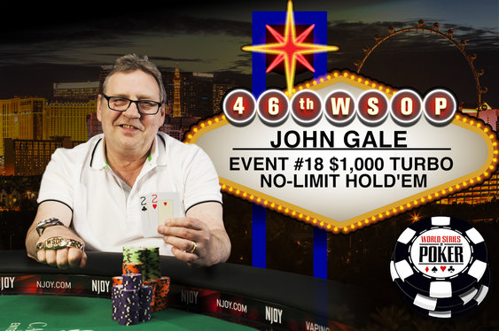 Brit John Gale Wins WSOP $1k Turbo