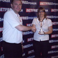 Kim Jagger wins back-to-back events on Betfred Ladies' Poker Tour