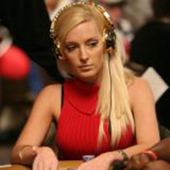 Absolute Poker Signs Lacey Jones.